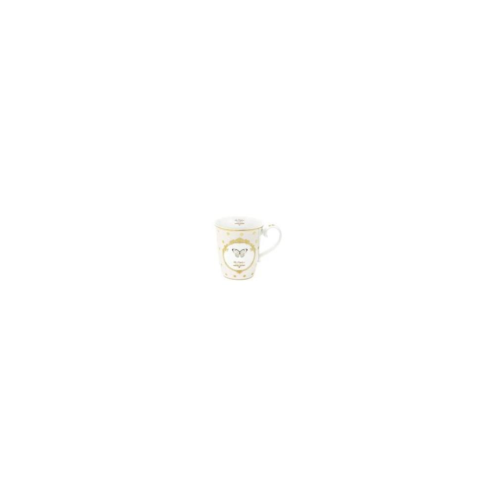 TAZZA SINGOLA R1101 DOTS-BUTTERFLY